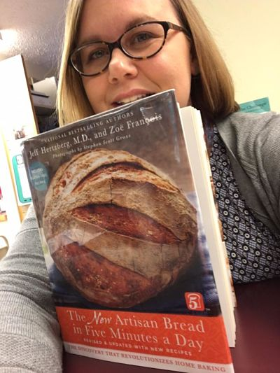 Annie with Artisan Bread Book